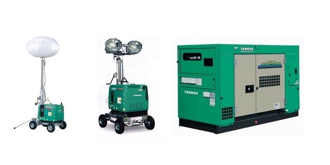 発電機・溶接機・照明機器